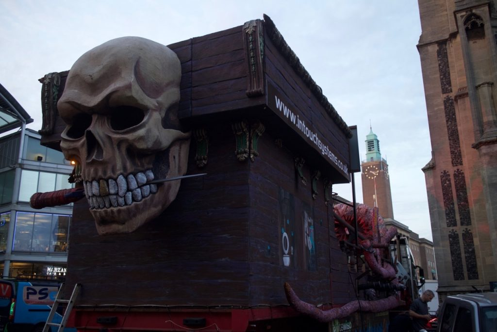 Skull and clock tower - ©The Eye Snapper