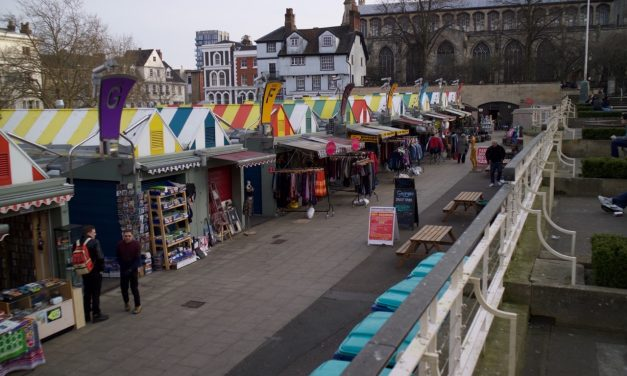 Spring brings new stalls to Norwich Market
