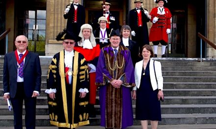 New Lord Mayor and Sheriff take up honour