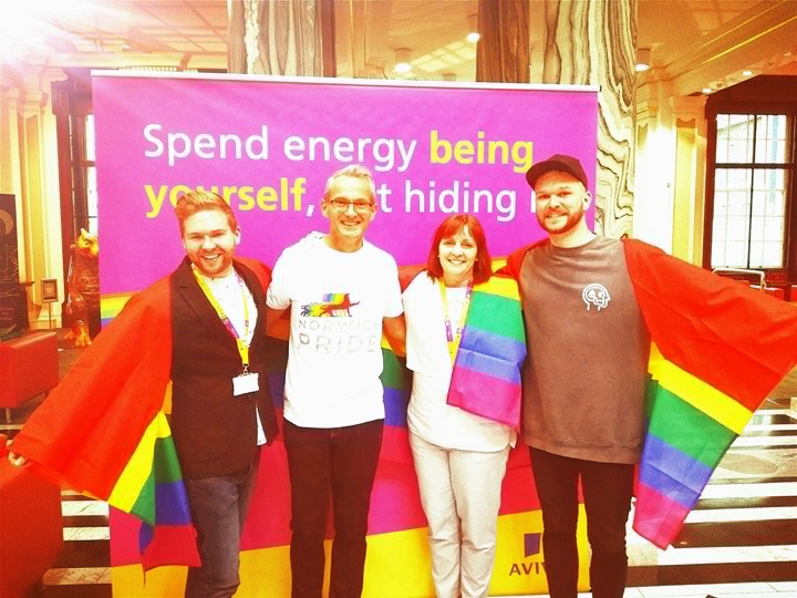 Will You Visit The Community Tent at Norwich Pride?