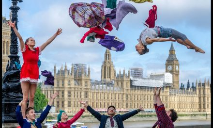 Norwich Circus company star in national launch of year long celebration of circus