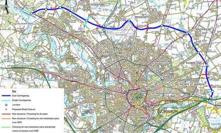 NDR Traffic Update – Buxton Road, Spixworth to close for two weeks