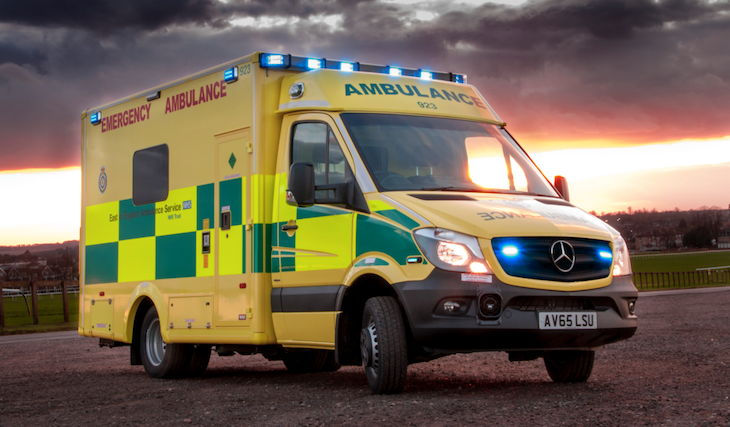 'Plans on track' for new 999 standards at ambulance service