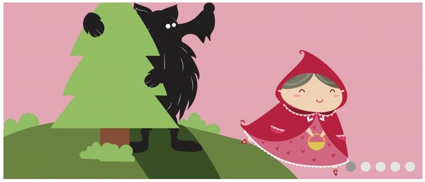 My First Panto – Little Red Riding Hood for toddlers at The Garage