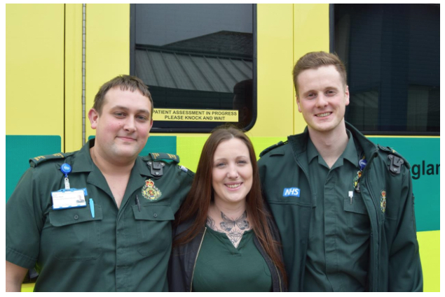 Norfolk woman thanks lifesavers