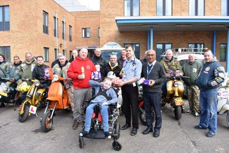 NNUH young patients get early Easter delivery
