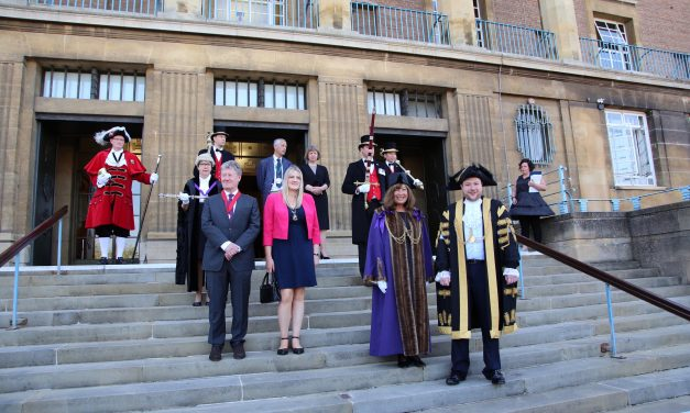 New City Council Lord Mayor and Sheriff appointed at civic ceremony