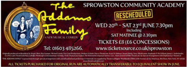 Norwich Eye reviews The Addams Family