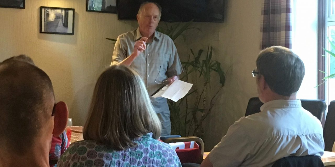 Ian Gibson inspires Norwich North meeting