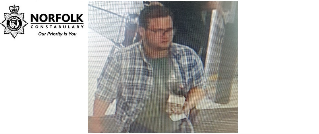 CCTV image released following supermarket theft – Norwich