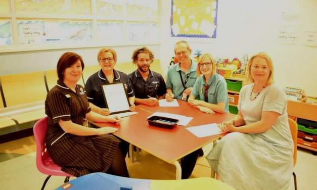 Local Youth Group Supports Jenny Lind Children's Hospital