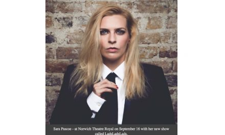 Sara Pascoe brings LadsLadsLads to Norwich
