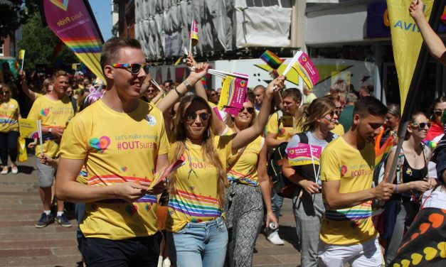 Norwich Pride organisers launch online survey for businesses and organisations who took part in the Pride 2018.