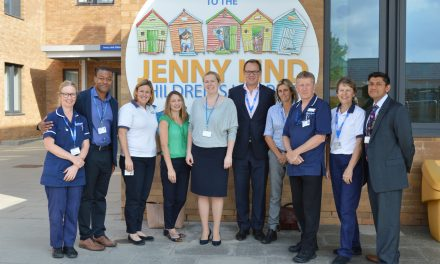 Paediatric Orthopaedic Emergency Service at NNUH celebrates one year anniversary