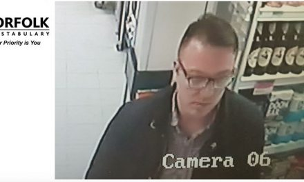 CCTV appeal following theft – Norwich