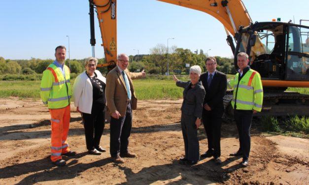 Norfolk celebrates roundabout
