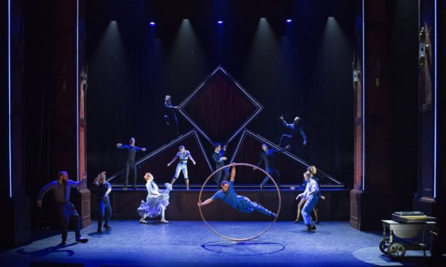 Norwich Eye reviews Hotel by Cirque Éloize