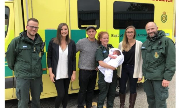 EEAST crew helps baby Charlie take his first breath