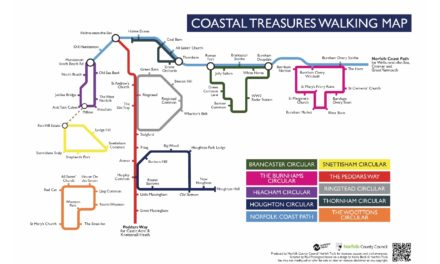 Step out to discover Coastal Treasures with Norfolk's Walking & Cycling Festival 2019