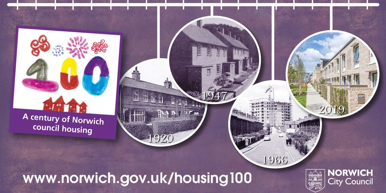 Celebrating a century of Norwich council housing