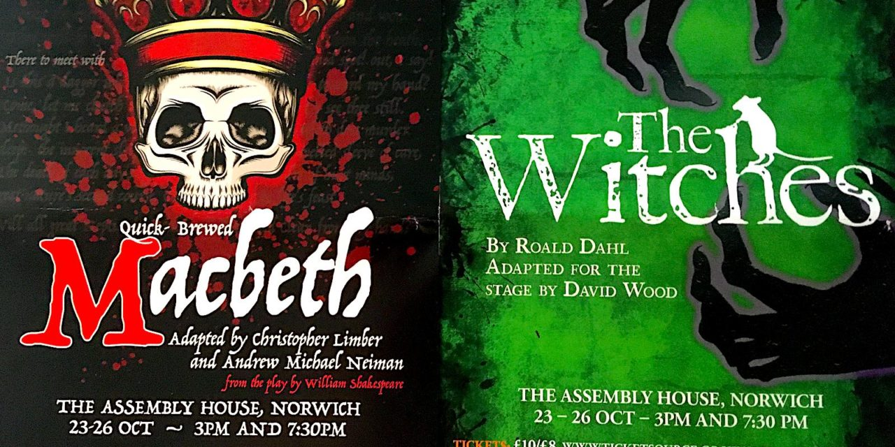 Norwich Eye reviews The Witches and Macbeth by Echo Youth Theatre