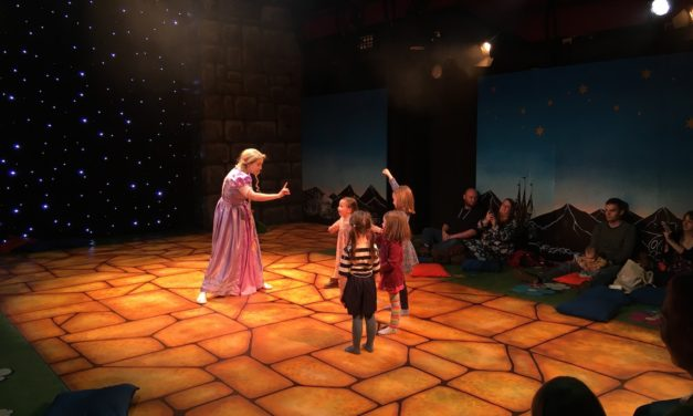 Norwich Eye reviews My First Panto – Rapunzel at The Garage