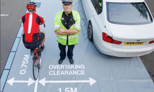 Operation Close Pass – Cycling safety operation in Norwich
