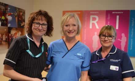 NNUH staff receive Chief Nursing Officer for England awards