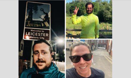 Apple store runners turn lockdown into charity challenge