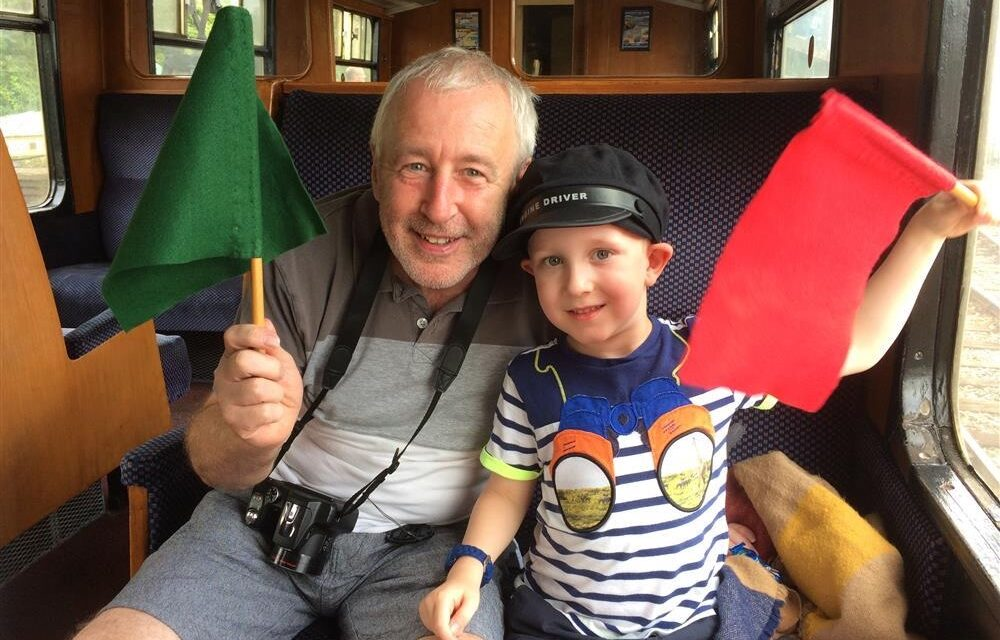 Boy's charity challenge to make memories with grandad