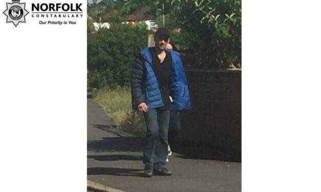 Appeal following shed burglary – Sheringham and Norwich