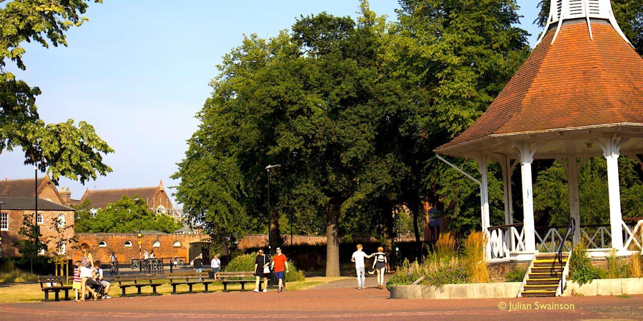 Future plans for the city's public spaces