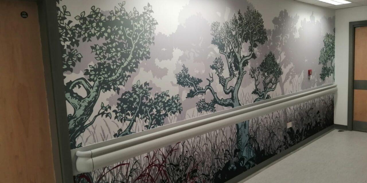 Norfolk Centre for Interventional Radiology sees major artworks installed