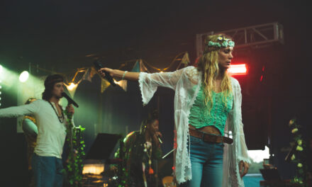 Norwich Eye reviews Hair in the Interlude@UEA tent