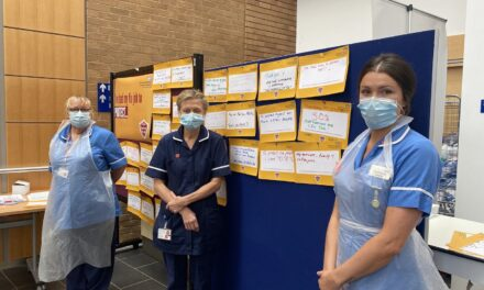 Flying start for NNUH Flu campaign with 50% of staff vaccinated by week three