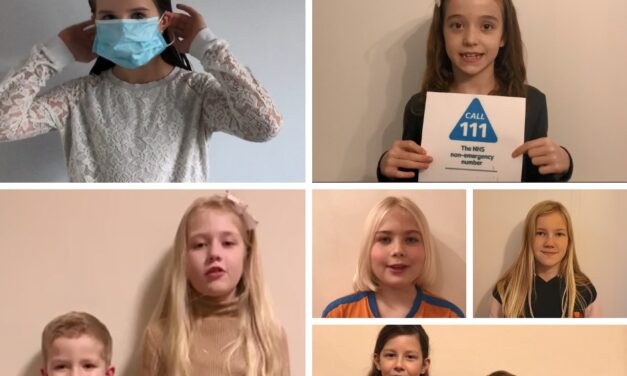 An important message from the children of our ED colleagues