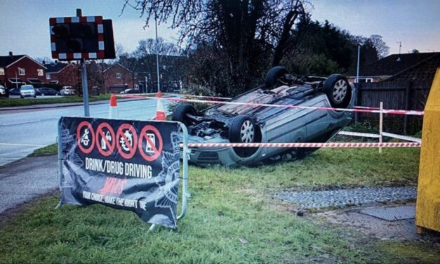'Crash' scenes highlight dangers on Norfolk roads to motorists